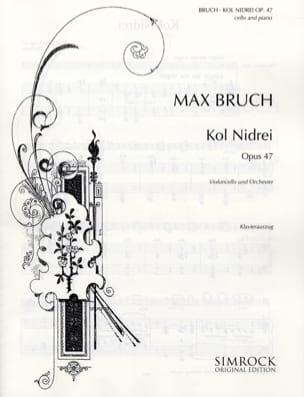 Kol Nidrei op. 47 - Violoncelle BRUCH Partition laflutedepan