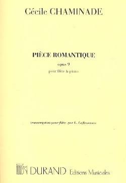 Pièce Romantique, Op. 9 - Flûte et Piano - laflutedepan.com