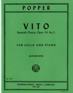 Vito op. 54 n° 5 David Popper Partition Violoncelle - laflutedepan