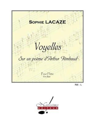 Voyelles Sophie Lacaze Partition Flûte traversière - laflutedepan