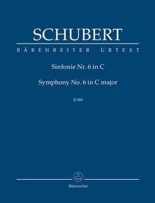 Symphonie N°6 SCHUBERT Partition Petit format - laflutedepan