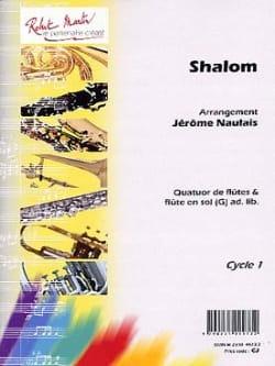 Shalom Jérôme Naulais Partition Flûte traversière - laflutedepan