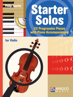 Starter Solos - Violon Philip Sparke Partition Violon - laflutedepan