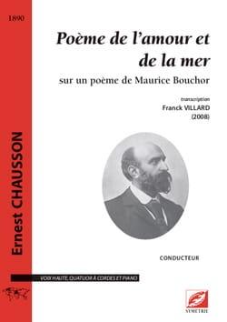 Poème de l'amour et de la mer - Conducteur - laflutedepan.com