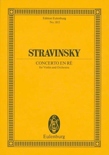 Concerto pour Violon en Ré M. 1931 - Conducteur - laflutedepan.com