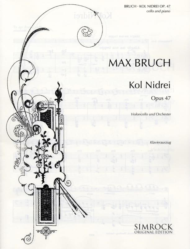 Kol Nidrei op. 47 - Violoncelle - BRUCH - Partition - laflutedepan.com