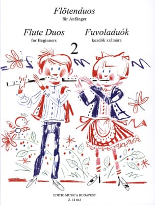 Flute Duos For Beginners Volume 2 Laszlo Csupor Partition laflutedepan