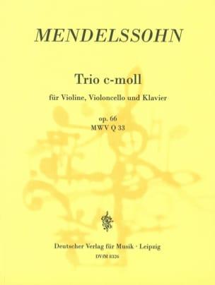 MENDELSSOHN - Klaviertrio c-moll op. 66 - Partition - di-arezzo.co.uk