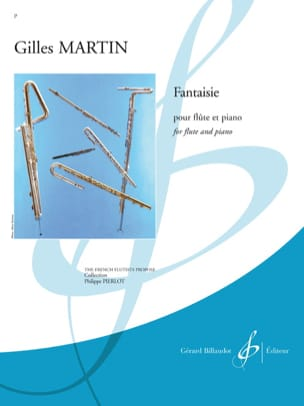 Fantaisie Gilles Martin Partition Flûte traversière - laflutedepan