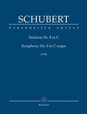 Symphonie N°8 9 La Grande SCHUBERT Partition laflutedepan