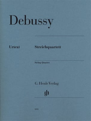 Quatuor à Cordes Opus 10 DEBUSSY Partition Quatuors - laflutedepan