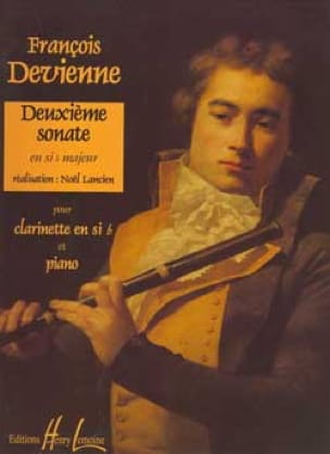 2ème Sonate en Sib Majeur - DEVIENNE - Partition - laflutedepan.com