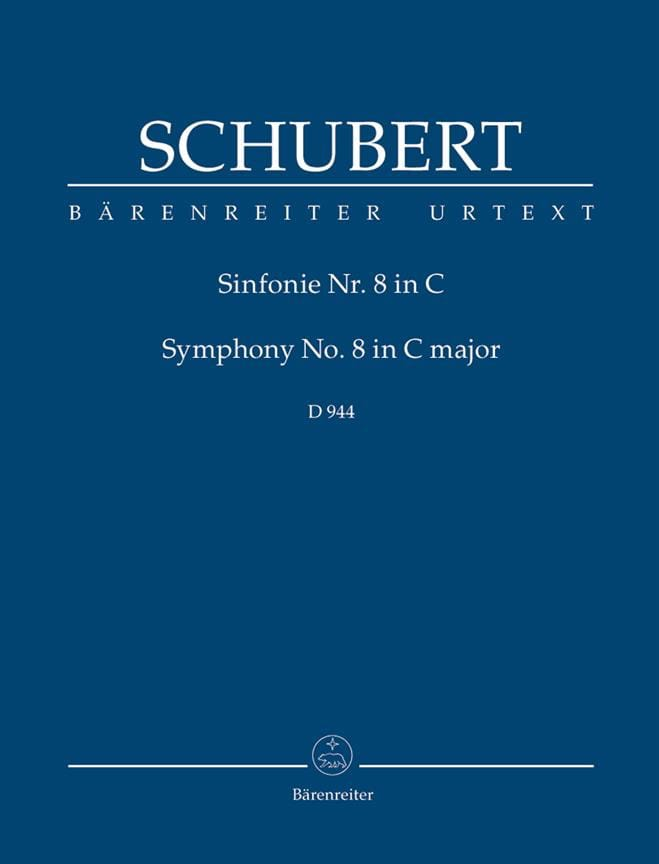 Symphonie N°8 9 La Grande - SCHUBERT - Partition - laflutedepan.com