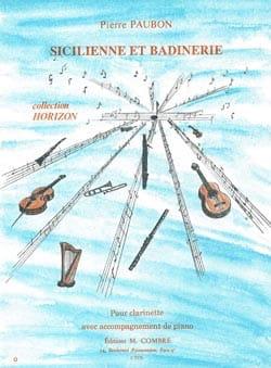Sicilienne et Badinerie Pierre Paubon Partition laflutedepan