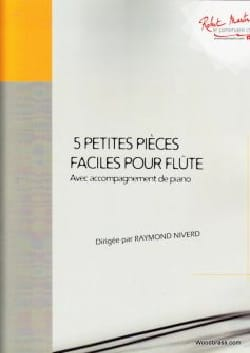 5 Petites Pièces Faciles pour Flûte Partition laflutedepan