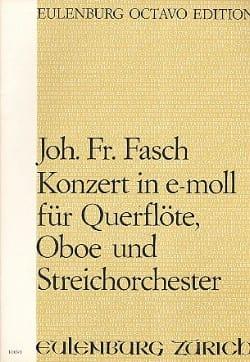 Konzert e-moll für Querflöte, Oboe u. Streichorchester laflutedepan