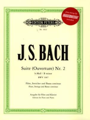 Suite h-moll Ouverture Nr. 2 BWV 1067 - Flöten Klavier - laflutedepan.com