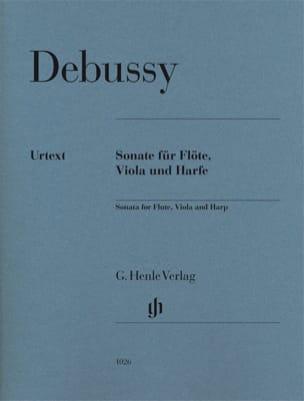 Sonate Pour Flute, Alto et Harpe - Parties DEBUSSY laflutedepan