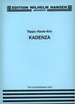 Kadenza for Double Bass - Teppo Hauta-Aho - laflutedepan.com