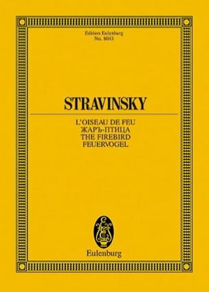 Igor Stravinsky - The Firebird 1909-10, Ballet - Partition - di-arezzo.com