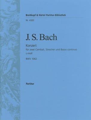 Konzert c-moll für 2 Cembali BWV 1062 - Conducteur BACH laflutedepan