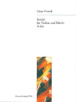 Sonate A-Dur - violon FRANCK Partition Violon - laflutedepan