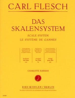 Le Système des Gammes - Alto Carl Flesch Partition Alto - laflutedepan