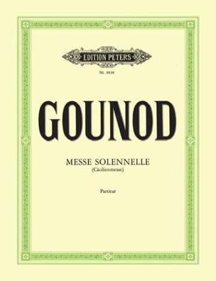 Messe solennelle de Sainte Cécile - Conducteur GOUNOD laflutedepan
