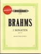 BRAHMS - 2 Sonates Op.120 - sheet music - Partition - di-arezzo.com