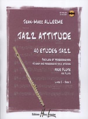 Jazz Attitude Volume 2 Jean-Marc Allerme Partition laflutedepan