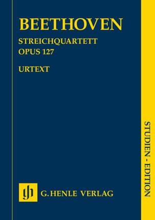 Quatuor à cordes en Mi bémol majeur op. 127 BEETHOVEN laflutedepan