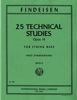 25 Technical Studies Op. 14 Vol 2 Findeisen Partition laflutedepan