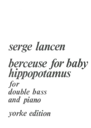 Berceuse for Baby Hippopotamus - Serge Lancen - laflutedepan.com