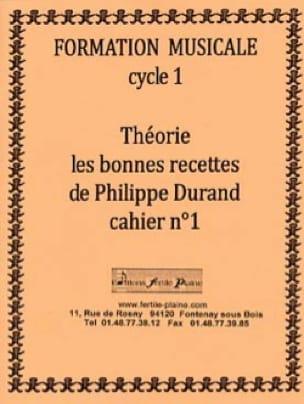 Théorie, Les Bonnes Recettes, Volume 1 - laflutedepan.com