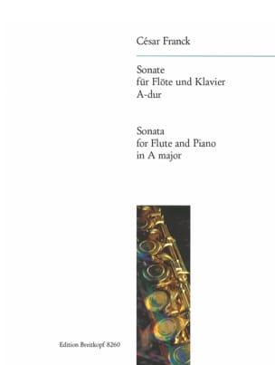 Sonate A-Dur - flute piano FRANCK Partition laflutedepan