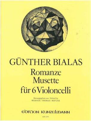 Romanze - Günter Bialas - Partition - Violoncelle - laflutedepan.com