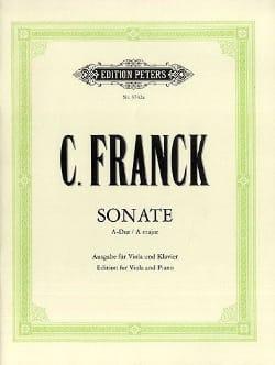 Sonate A-Dur - Viola FRANCK Partition Alto - laflutedepan