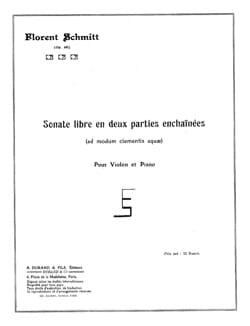 Sonate libre en deux parties enchainées op. 68 laflutedepan