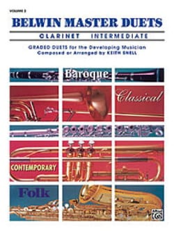 Belwin Master Duets, Volume 2 Clarinet intermediate laflutedepan