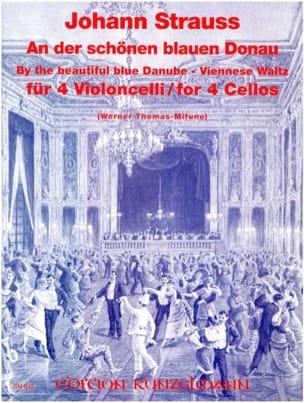 An der schönen blauen Donau op. 314 - 4 Cellos laflutedepan