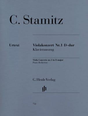 Concerto pour Alto N° 1, Ré Majeur STAMITZ Partition laflutedepan