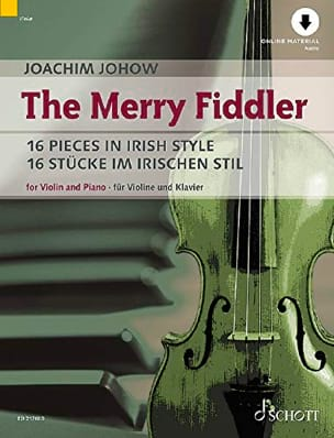 The Merry Fiddler - Violon et piano Joachim Johow laflutedepan