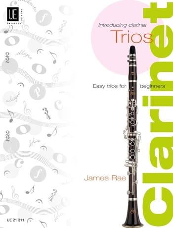 Introducing Clarinet Trios - James Rae - Partition - laflutedepan.com