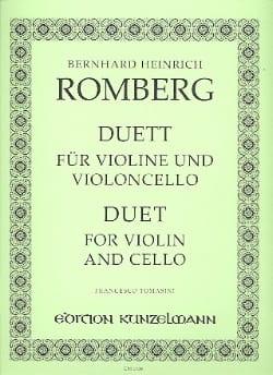 Duett für Violine und Violoncello laflutedepan