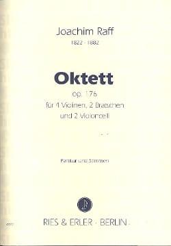 Oktett op. 176 -Partitur + Stimmen Joachim Raff laflutedepan