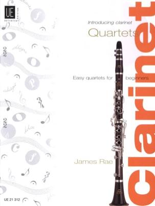 Introducing Clarinet Quartets James Rae Partition laflutedepan
