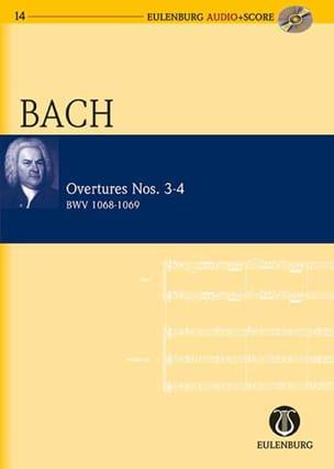 Ouvertures Suites N° 3-4 BWV 1068 et 1069 BACH Partition laflutedepan