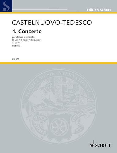 1. Concerto In D-Dur - Mario Castelnuovo-Tedesco - laflutedepan.com