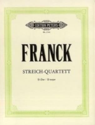 Streichquartett D-Dur -Stimmen - FRANCK - laflutedepan.com