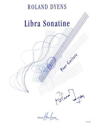 Roland Dyens - Libra Sonatine - Partition - di-arezzo.com